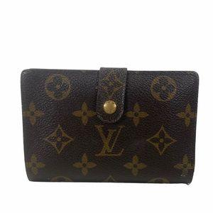 💕Louis Vuitton wallet portefeiulle Viennois brown